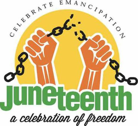 new slt juneteenth logo