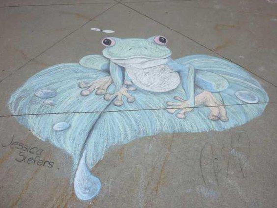 new slt frog art