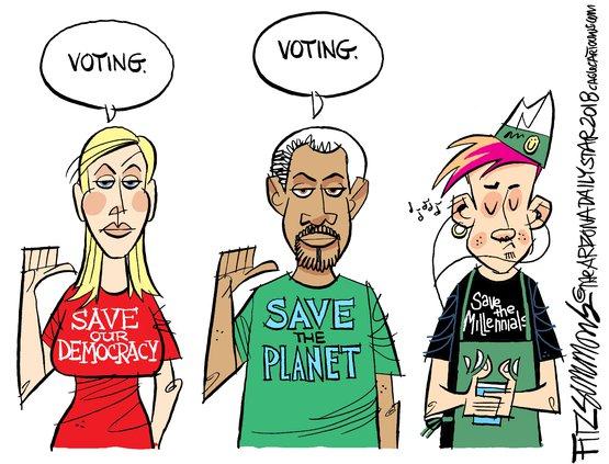Millinnial vote
