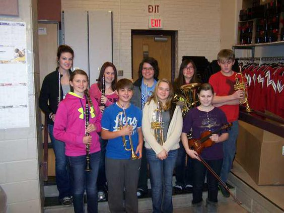 new deh gbhs honor band student pic