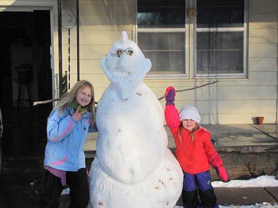 new deh snowman pic