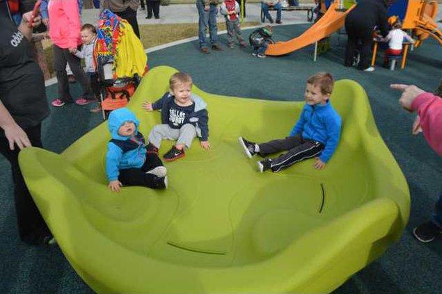 new re playground opening 1