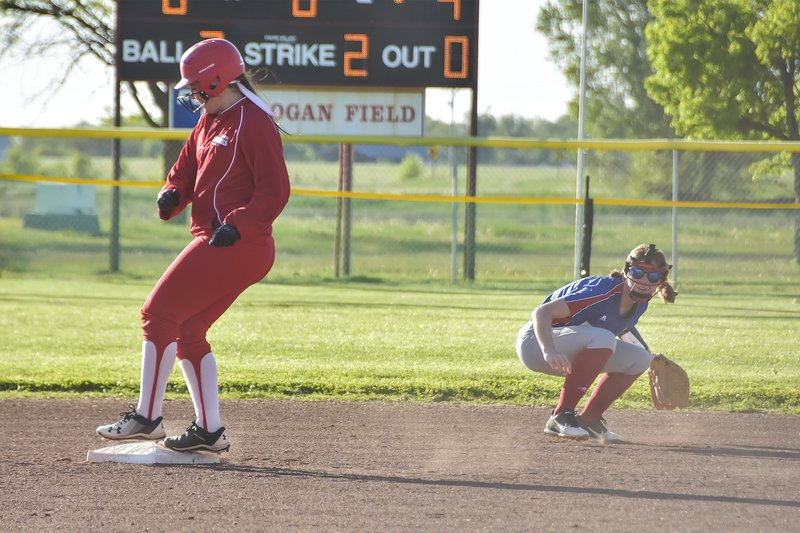 Hoisington softball wins opener