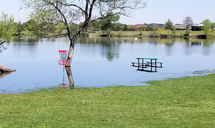 new_deh_vets lake fish stocking- high water pic