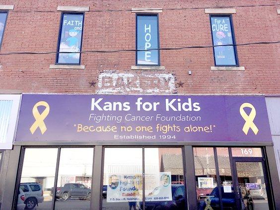 Kans for Kids new office